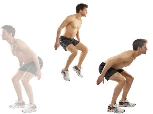 jump squat twist