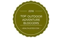 2016 Top Outdoor Adventure Bloggers