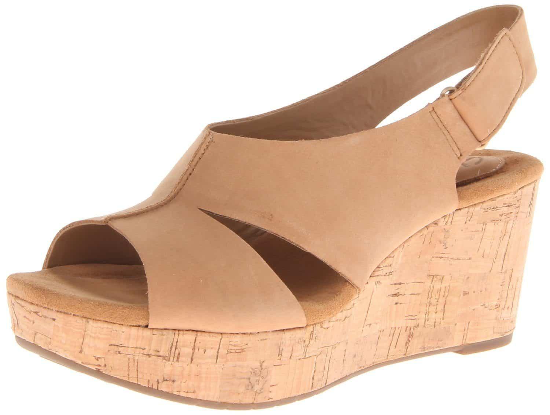 Clarks Women's Caslynn Lizzie Wedge Sandal