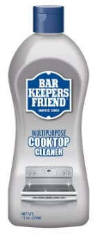 Bar Keepers Friend Cooktop Cleaner
