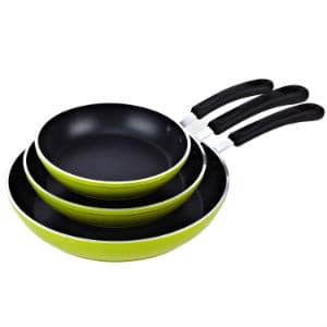 Cook N Home Frying Pan 3 Piece Set