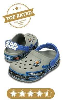 Crocs Kids' Croclights Star Wars X-Wing Light up Clog