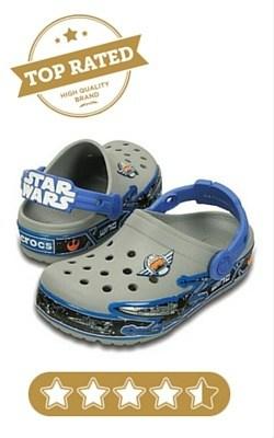 Crocs Kids' Croclights Star Wars X-Wing Light up Clog