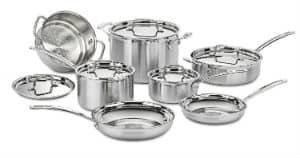 Cuisinart MCP-12N Stainless Steel 12 Piece Set
