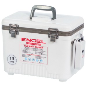 Engel USA Live Bait Cooler/Dry Box with Air Pump