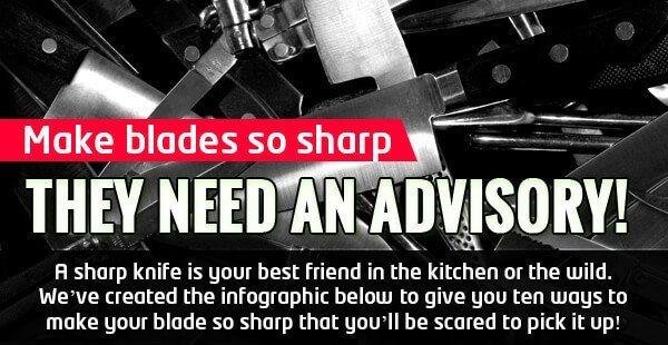 Warning: Make blades so sharp they need an advisory!