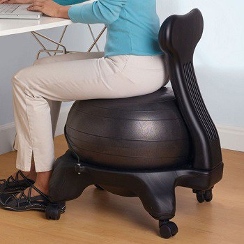 Gaiam Balance Ball Chairs with Back