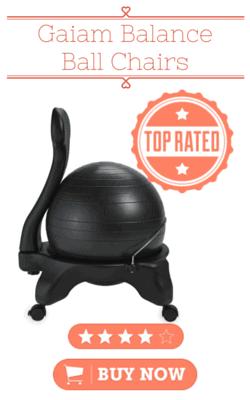 Balance ball chair reviews