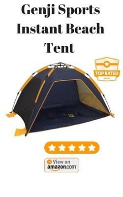 Genji Sports Instant Beach Tent