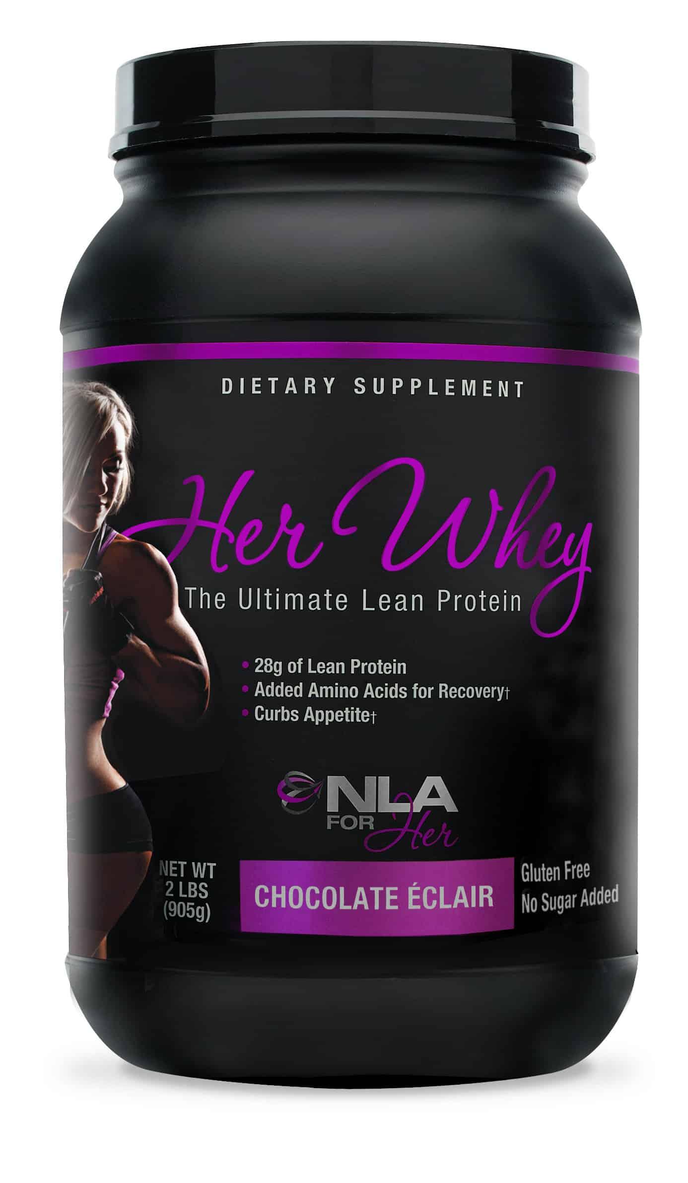 HER WHEY Gluten-Free Protein Chocolate Eclair