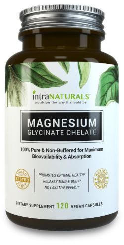 agnesium Glycinate 300mg in Vegan Capsules, Better Absorbing than Tablets