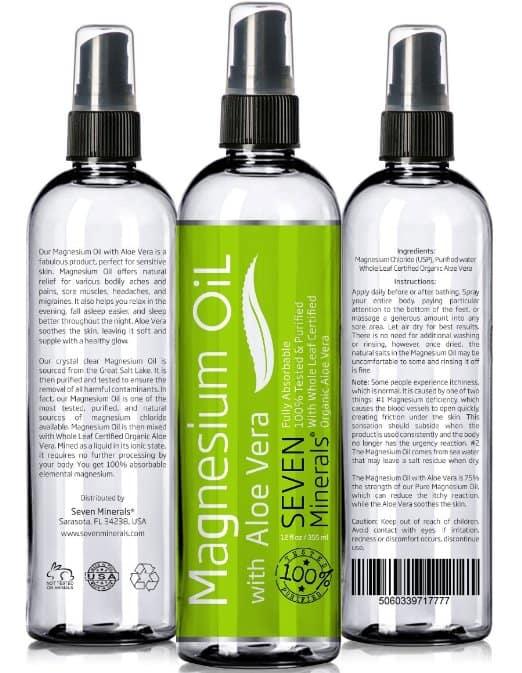 Magnesium Oil with ALOE VERAMagnesium Oil with ALOE VERA