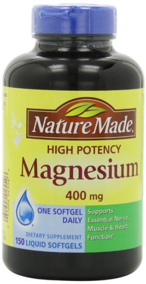 Nature Made High Potency Magnesium