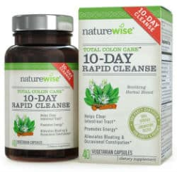 NatureWise 10-Day Rapid Cleanse for Colon Health