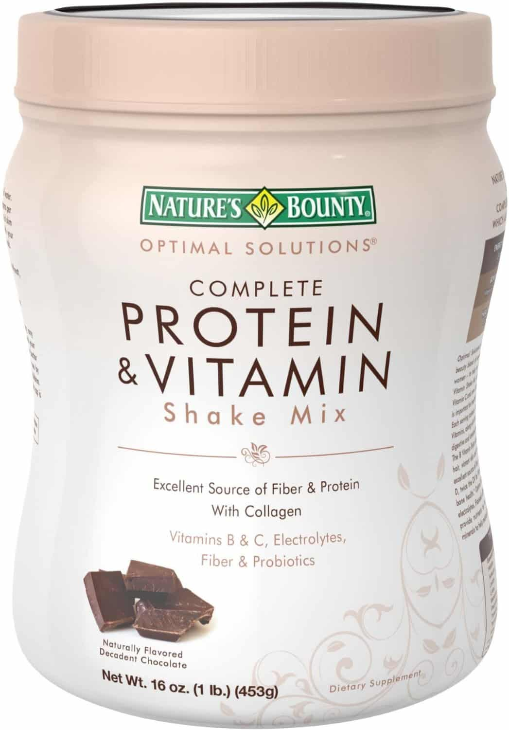 Nature's Bounty Optimal Solutions Protein Shake