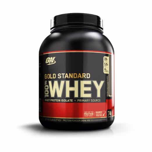Optimum Nutrition 100% Whey Gold Standard, Double Rich Chocolate