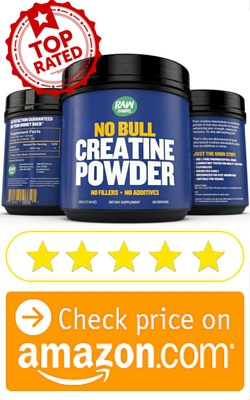 Raw Barrel Pure Creatine Monohydrate Powder