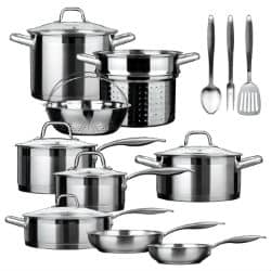 Secura SSIB-17 17 Piece Induction Cookware Set