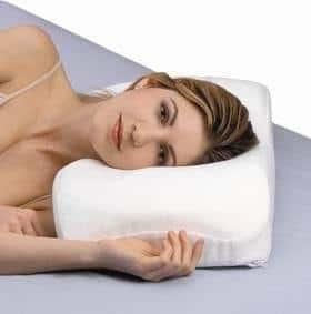 SleepRight Side Sleeping Memory Foam Pillow