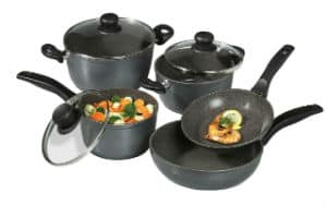 Stoneline Nonstick Stone Cookware 8 Piece Set