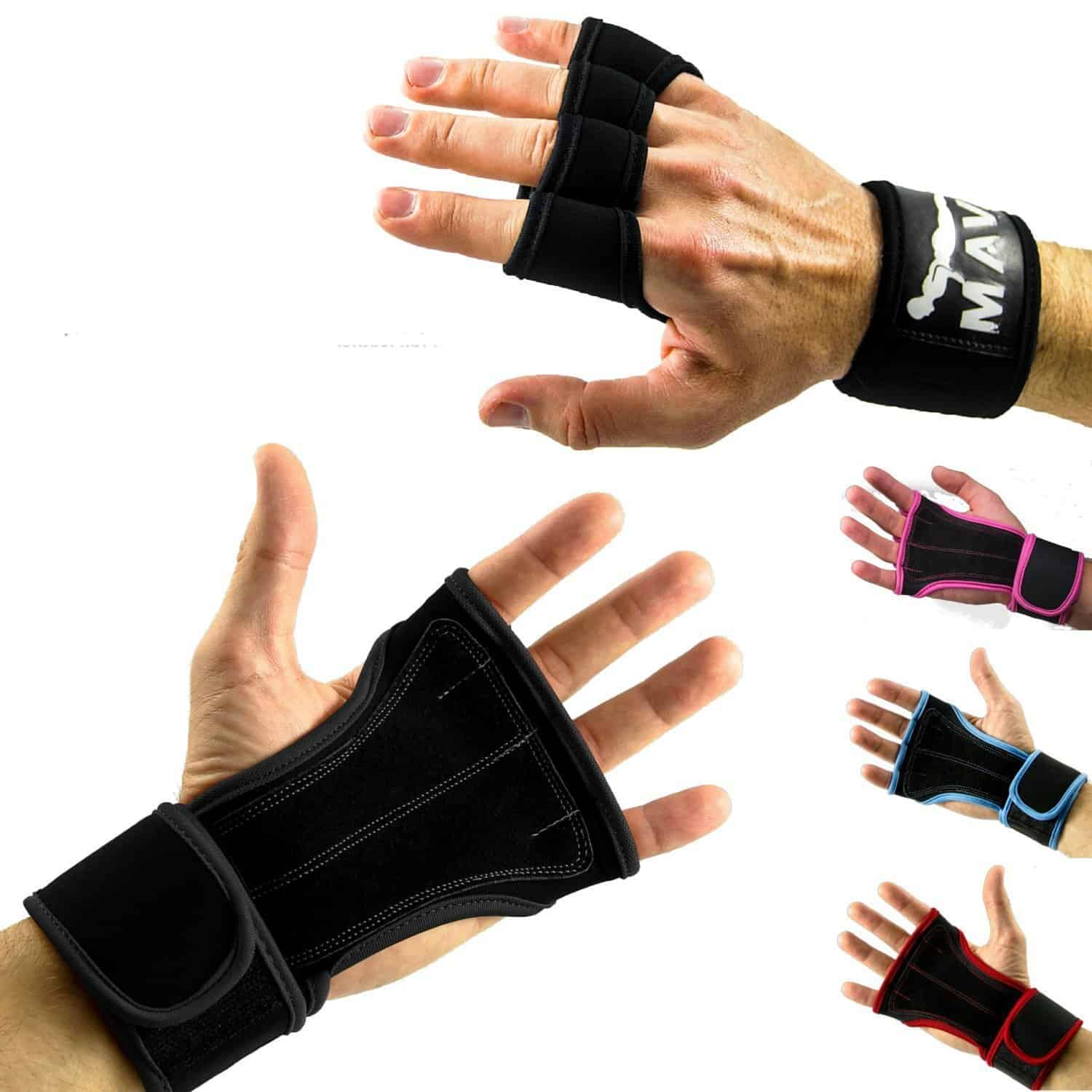 Strong Grip Cross Training Gloves By Mava Sports
