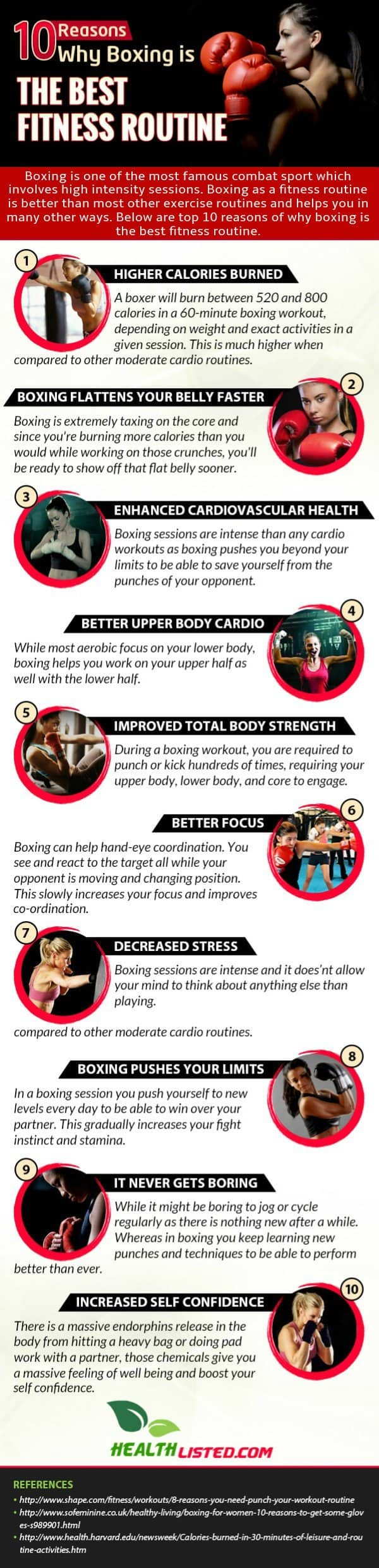 Why Boxing is the Best Fitness Routine