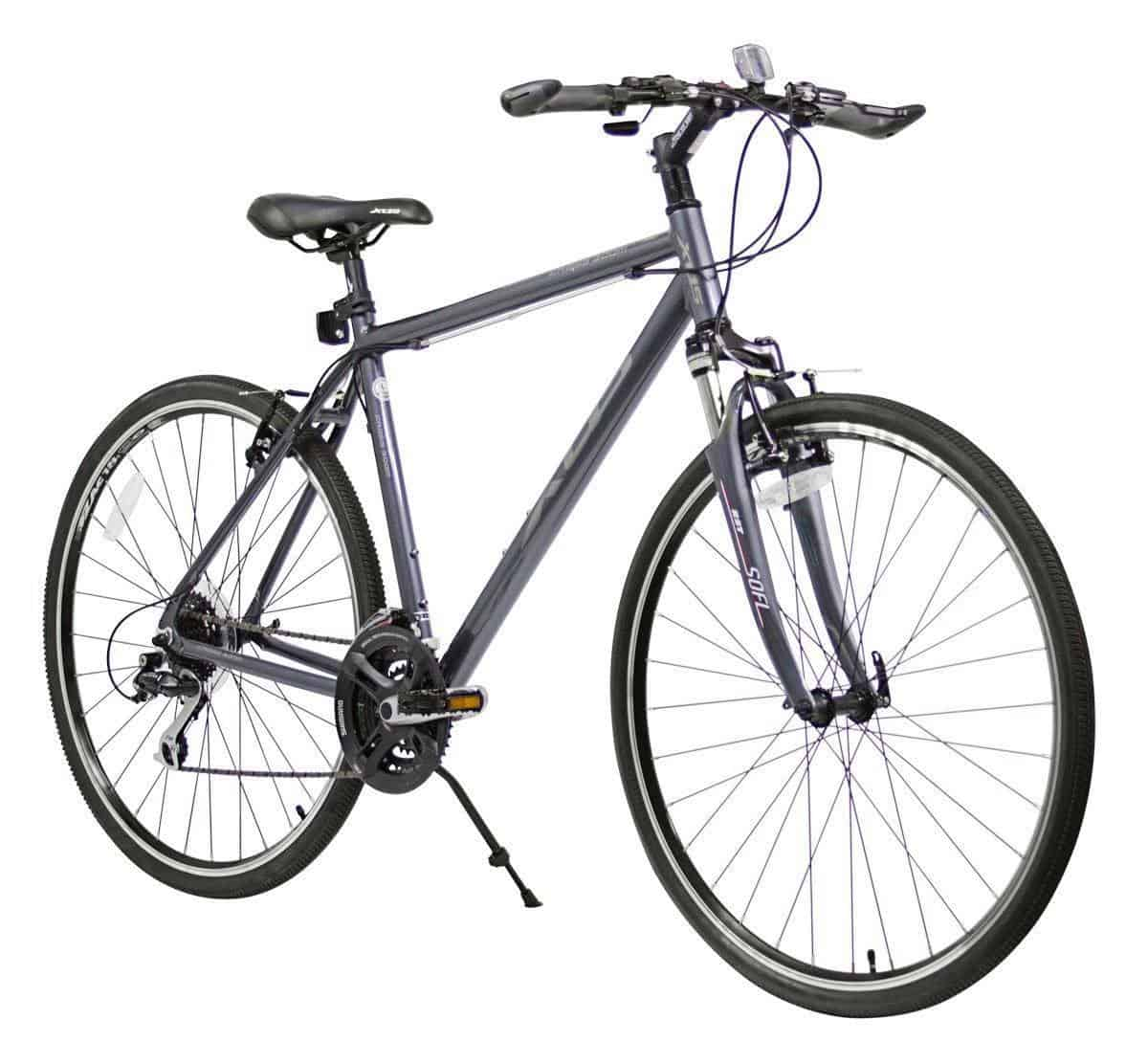XDS Men's Cross 300 24-Speed Hybrid Bicycle