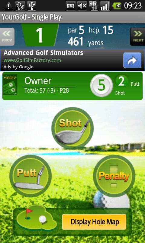 Your Golf Partner App
