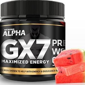 Alpha Gx7 Pre-workout - Maximized Energy