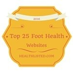 top 25 foot health websites