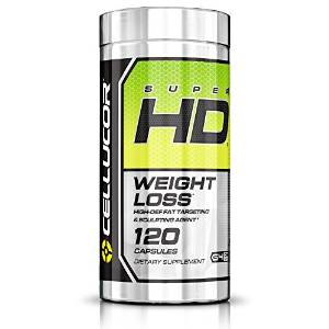image of cellucor super hd fat burner pre workout