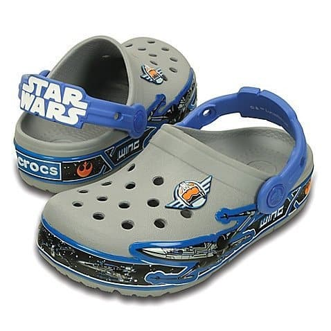 Crocs Kids' Croclights Star Wars X-Wing Light-Up Clog (Toddler/Little Kid)