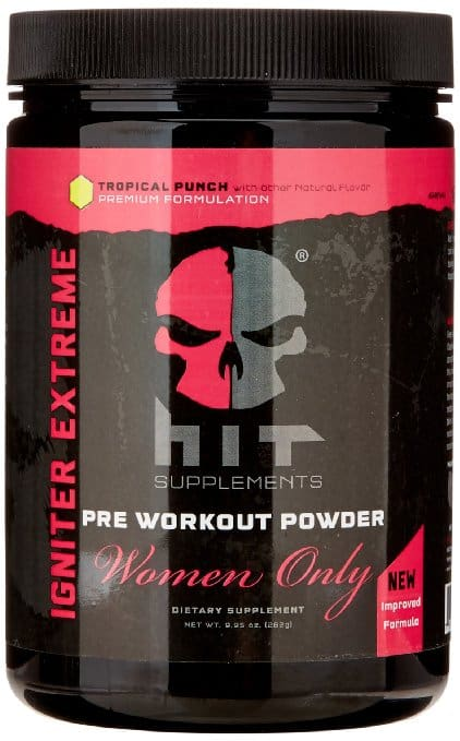 image of hit women only pre workout