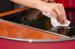 how to clean ceramic cooktop