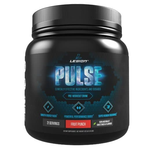 Legion pulse natural pre-workout supplement