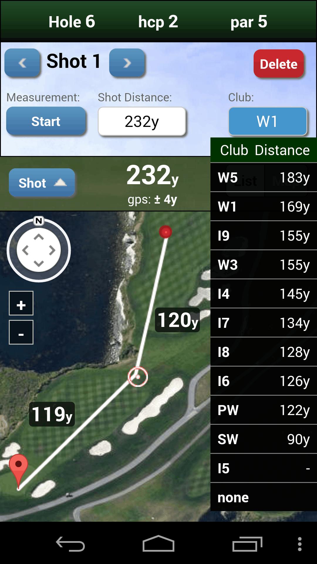 mScorecard golf app