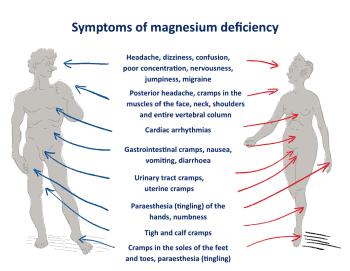 low magnesium levels