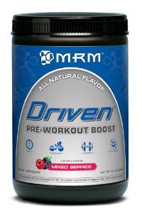 image of mrm driven pre-workout boost