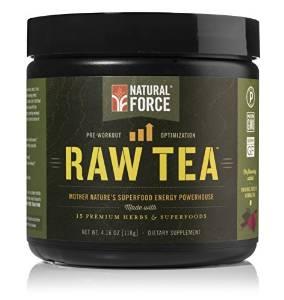 image of natural force raw tea