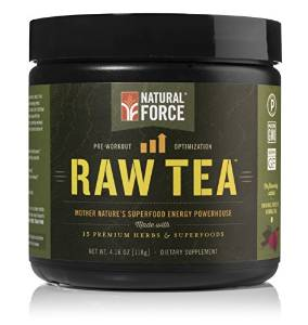 image of natural force raw tea