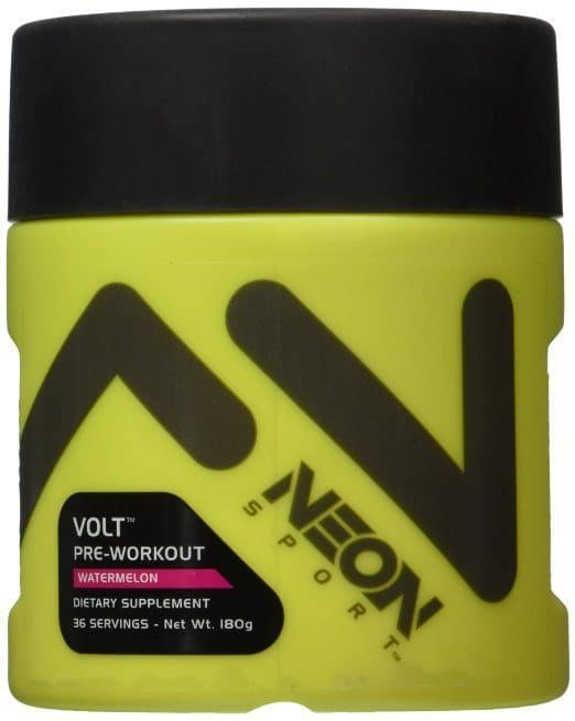 image of neon sport volt pre workout