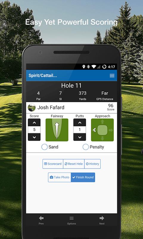 offcourse golf gps app