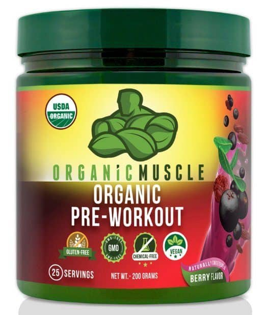image of organic muscle pre-workout