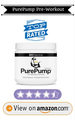 All Natural Pre Workout PurePump