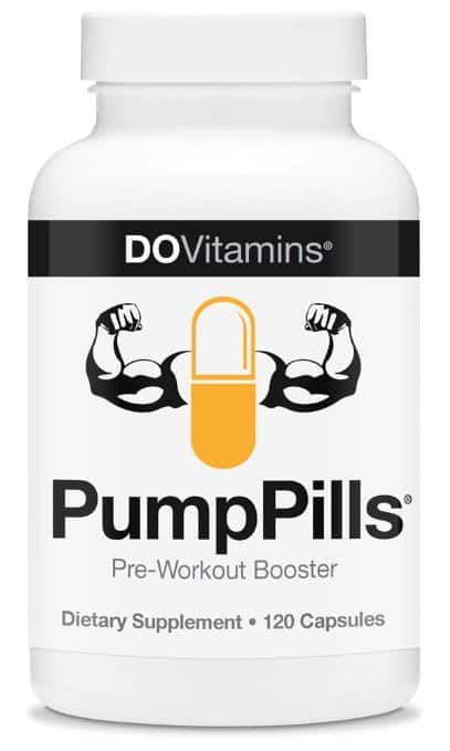 PumpPills - Nitric Oxide Booster
