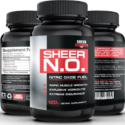 image of sheer no pre workout