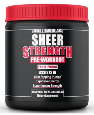 Sheer NATURAL Sheer Strength Pre-Workout