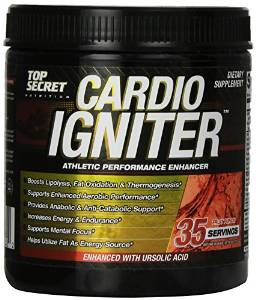 image of top secret cardio igniter pre workout
