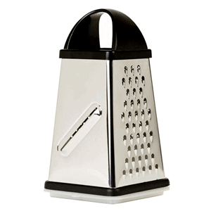 Oliver & Kline 4-Sided Cheese and Vegetable Grater