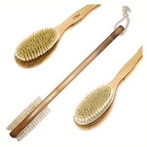 Double Sided Bamboo Dry Body Bath Brush